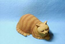 Orange Tabby Cat Figurine - Cat Nap - Conversation Concept
