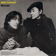 JOHN LENNON  Woman / Beautiful Boys 45 with PicSleeve  THE BEATLES