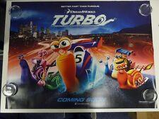 Turbo Animación Reynolds Giamatti Original Película / Cartel De Quad 76x102cm