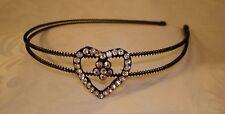 Diamante Heart Headband
