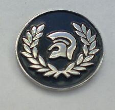 Black Trojan Helmet Ska Reggae Soul Enamel  Pin Badge