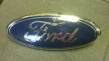USED ORIGINAL FORD OVAL GRILL EMBLEM 3 1/4""