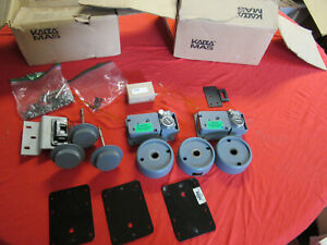 KABA MAS X-09 HIGH SECURITY LOCK SET PARTS 2 COMPLETE LOCKS AND OTHER PARTS READ