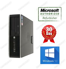 HP 6200 PRO SFF i5 3.1Ghz 4GB ram 250GB DVD Win10H Desktop Warranty Grade A-