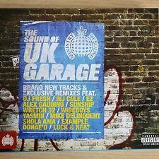 2CD NEW - THE SOUND OF UK GARAGE - Pop Club House Dance Music 2x CD Album Fiskin