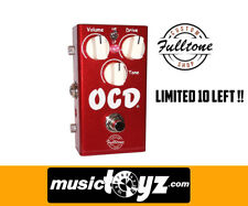 Fulltone OCD LIMITED Candy Apple Red V2 Overdrive Guitar Pedal - New/Auth