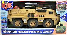 GI Joe Motorized Armored Personnel Carrier New in Box 2003 Rocket Firing