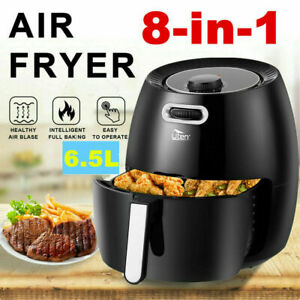 New 6.5L Air Fryer 1800W Power Oven Cooker Oil Free Low Fat Healthy Frying Chips