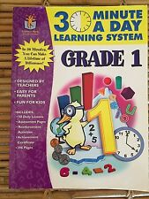 30 Minute a Day Learning System Grade 1 by Martha Swanson, Leigh Anne...