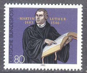 Germany 1983 MNH Mi 1193 Sc 1406 Martin Luther **