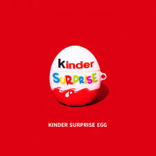 Kinder Surprise Eggs 3D Silicone Protective Case Cover For Huawei Freebuds 3