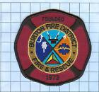 Fire Patch -Burton Fire  District