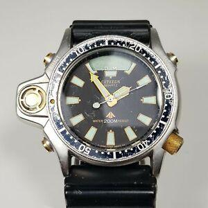 Rare Vintage Citizen Promaster Aqualand Diver 200m C022-088093 Watch