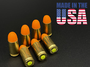 Premium Metal 9mm, Dummy Rounds, Snap Caps -- Ammo for Training **Made in USA!!