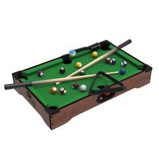 Mini Pool Table Set Kids Indoor Outdoor Table Top Billiards by Trademark Games