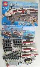 Lego Eisenbahn ZUG ICE 7897! +20 Schienen + 2 Weichen! VOLLSTÄNDIG in OVP mit BA