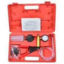 Car Motorbike Bleeding Hand Held Brake Bleeder Tester Set Bleed Kit Vacuum Pump
