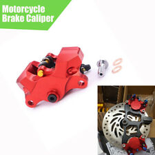 1PC Motorcycle Brake Caliper Red Aluminum Alloy For Honda Yamaha Kawasaki Suzuki