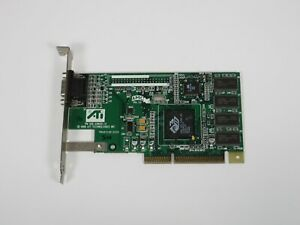 ATI Rage Pro Turbo 3.3v AGP 8MB SDRAM VGA Video Card 109-49800-11 AMC Ver 2.0