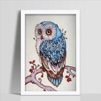 "5D DIY Full Drill  Diamond Painting""Cute owl""Diamond Embroidery Cross Stitch YK"
