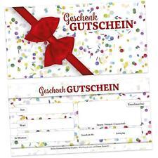 """Erhältlich im 1er 4er 8er Set /"""" Für Dich/"""" Edler Retro Weihnachts Gutschein"""