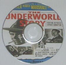 FILM NOIR 140: THE UNDERWORLD STORY 1950 Cy Endfield Dan Duryea Herbert Marshall