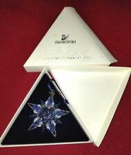 Rare Swarovski Crystal Annual Edition 2001 Christmas Ornament