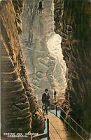 Cartolina di Tenno, orrido del Varone - Trento