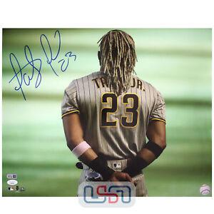 Fernando Tatis Jr. Padres Autographed Signed 16x20 Photo Photograph JSA Auth #6