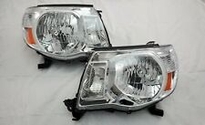 2005 - 2011 Toyota Tacoma Direct Replacement Headlight Set Clear Lens