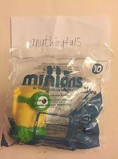 McDonald's 2015 happy meal toys - Minions - TALKING JURASSIC MINION  (#10)