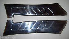 1955 Packard Clipper Rear Window Side Trim Set of 2 Stainless  -  SP169