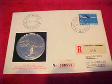 1969 #L-14  FIRST DAY FIRST ISSUED SWITZERLAND PHILSWISS AIRMAIL COMMEMORATIVE