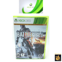 Battlefield 4 (2013) Xbox 360 Video Game with Case Insert and Disc Tested Works
