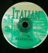 Italian Essential Software Maverick Pc Cd Disc only Foreign Language Educational