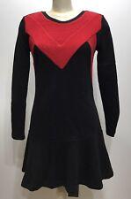 Bread N Butter Black/red Long Sleeve Women Dress Size Large