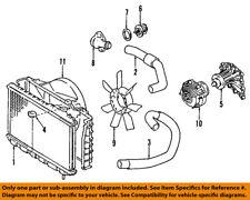 TOYOTA OEM 89-92 Cressida Radiator Coolant-Lower Hose 1657242040