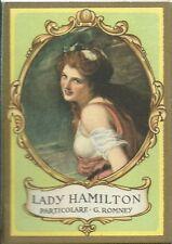 Lady Hamilton - Calendarietto da Barbiere 1949  Mignani Bologna