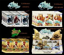 Lot 4 display WAKFU séries INCARNAM DOFUS AMAKNA boites de 24 boosters cartes