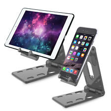 Adjustable Foldable Desk Desktop Stand Holder Mount For Cell Phone Tablet iPad