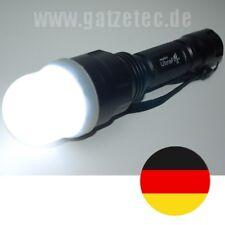 Diffuseur pour Ultrafire c8 + c12 et autres lampes de poche avec tête de lampe à à 45 mm