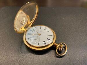 Zenith pocket watch -14K Gold - Grand Prix Paris 1900 -(certified by CAP-CJA)