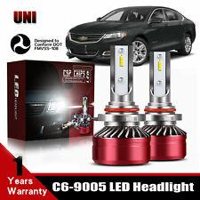LED Headlight Kit 9005 40W 6000K Bulbs High/Low Beam For 2016-2018 Chevy Impala