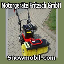 Motor Kehrmaschine KM60 Benzin Motorbesen Schneeschieber Schneefräse Schneepflug