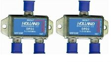 Lot Of 2 DIPLEXER COMBINER HOLLAND 5-2150MHZ DPD2 28V 2A MAX Dish Network Bev