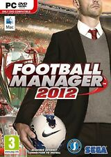 Football Manager 2012 PC BRAND NEW IN SEAL