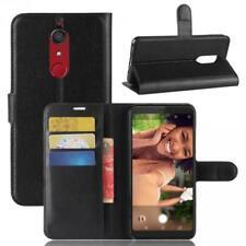 Wiko View XL Coque de protection Housse Pochette Wallet Case Noir