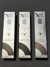 Sensus Man Premium Beard & Moustache Gel Color Dye - All Shades 60ml