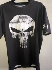 Under Armour® Alter Ego Punisher White Compression Shirt Size XL NEW (see Desc)