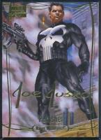 2016 Marvel Masterpieces Gold Signature Trading Card #73 Punisher /999